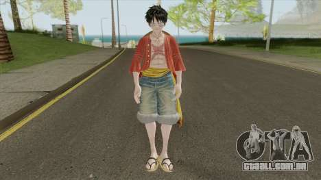 Monkey D. Luffy (Jump Force) para GTA San Andreas