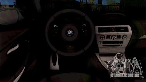BMW M6 E63 2010 para GTA San Andreas