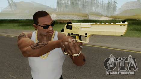 Desert Eagle Gold (HQ) para GTA San Andreas