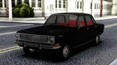 GAZ 24 Volga Preto para GTA San Andreas