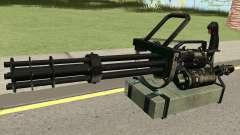 Minigun HQ para GTA San Andreas