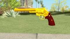 Golden Revolver para GTA San Andreas