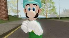 Luigi De Hielo (New Super Mario Bros) para GTA San Andreas
