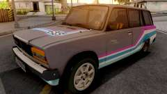 VAZ 2104 Deriva Carro Esporte para GTA San Andreas