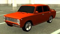 Vermelho VAZ 2101 Tuning para GTA San Andreas