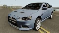 Mitsubishi Lancer Evolution X HQ para GTA San Andreas