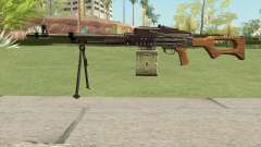 CSO PKM Machine Gun para GTA San Andreas