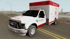 Ford F-4000 Samu LowPoly para GTA San Andreas