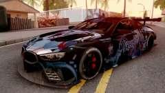 BMW M8 GTE Itasha Prinz Eugen para GTA San Andreas