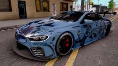 BMW M8 GTE Itasha Ayanami para GTA San Andreas