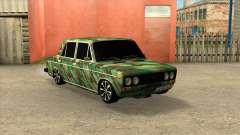 VAZ 2106 Limousine Camuflagem para GTA San Andreas