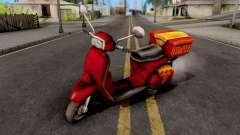 Pizzaboy GTA VC para GTA San Andreas
