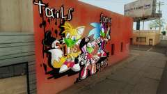 Sonic Wall Graffiti para GTA San Andreas