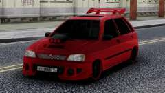 Kia Pride Tuning Red para GTA San Andreas