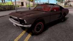 Ford Mustang Fastback GT390 Bullitt 1968 Custom para GTA San Andreas