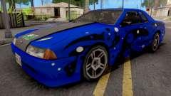 Blue Elegy Paintjob para GTA San Andreas