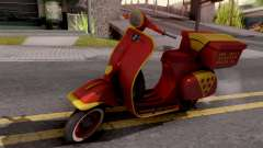 Vespa N 50 para GTA San Andreas