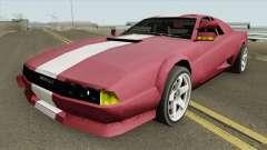 Cheetah Revolt IVF para GTA San Andreas