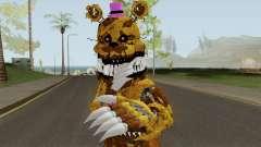 Nightmare Fredbear V3 para GTA San Andreas