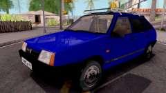 VAZ-21093 Azul para GTA San Andreas