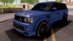 Land Rover Range Rover Sport Blue para GTA San Andreas
