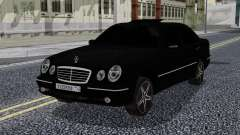 Mercedes-Benz W210 E55 Black para GTA San Andreas