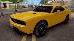 Dodge Challenger SRT8 Yellow para GTA San Andreas