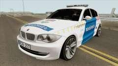 BMW 120i E87 Magyar Rendorseg para GTA San Andreas