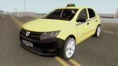 Dacia Logan 2 - Taxi Valentin 2016 para GTA San Andreas