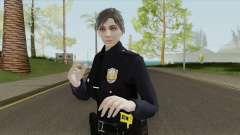 GTA Online Random Skin 17 Female LSPD Officer para GTA San Andreas