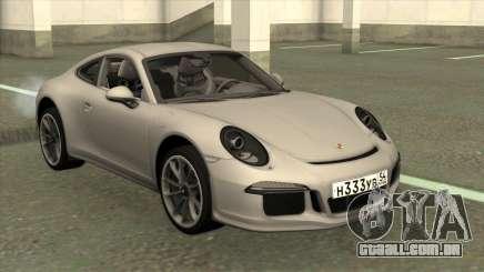 Porsche 911 R 2016 Stock para GTA San Andreas