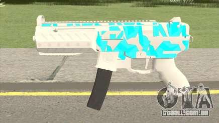 Submachine Gun MK2 (Ice) para GTA San Andreas