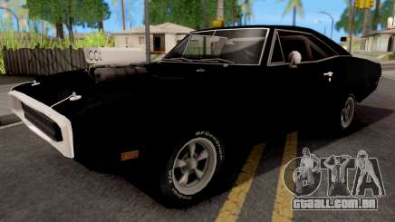 Dodge Charger 1970 Black para GTA San Andreas