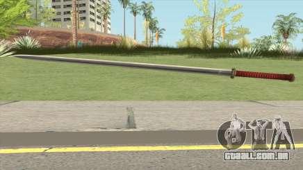 Chinese Katana para GTA San Andreas