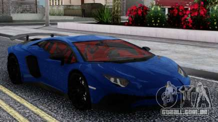 Lamborghini Aventador Radmir para GTA San Andreas