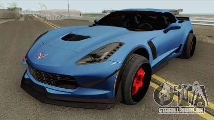 Chevrolet Corvette C7 Z06 para GTA San Andreas