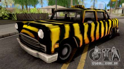 Zebra Cab GTA VC para GTA San Andreas