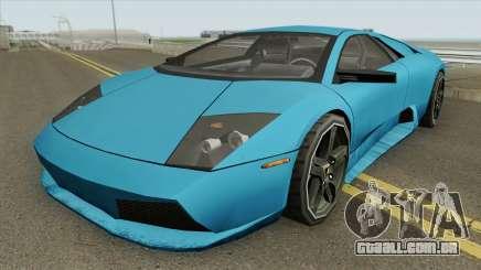 Lamborghini Murcielago 2008 (SA Style) para GTA San Andreas