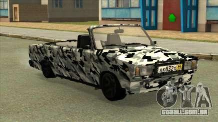 2107 de Camuflagem. para GTA San Andreas