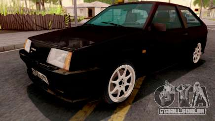 VAZ-2108 preto para GTA San Andreas