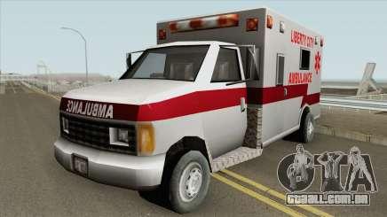 Ambulance GTA III para GTA San Andreas