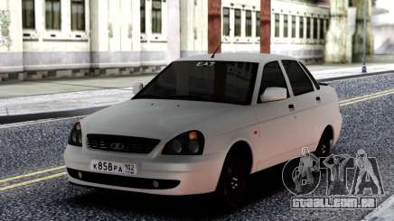 VAZ 2170 Priora Branco para GTA San Andreas