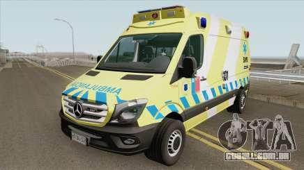 Mercedes-Benz Sprinter Facelift (SAMU Metropoli) para GTA San Andreas
