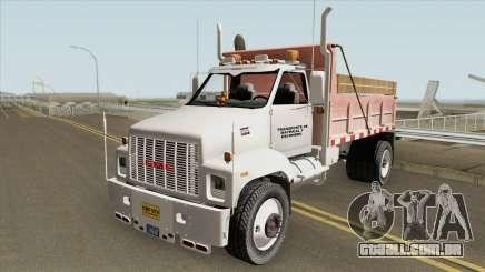 GMC Topkick MQ para GTA San Andreas