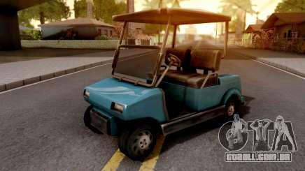 Caddy GTA VC para GTA San Andreas