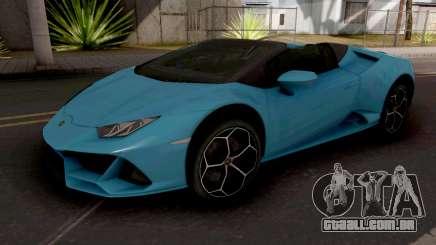 Lamborghini Huracan EVO Spyder para GTA San Andreas