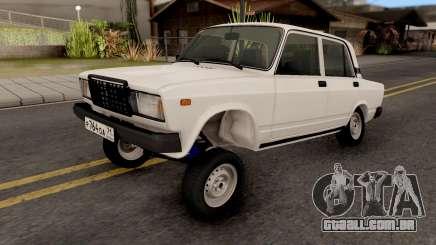 VAZ 2107 Avtosh Estilo para GTA San Andreas