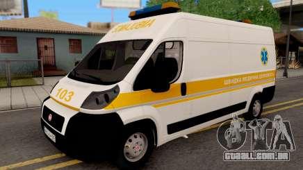 Fiat Ducato Ukraine Ambulance para GTA San Andreas