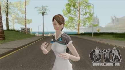 Kara With Cyberlife Uniform From Detroit Becomes para GTA San Andreas