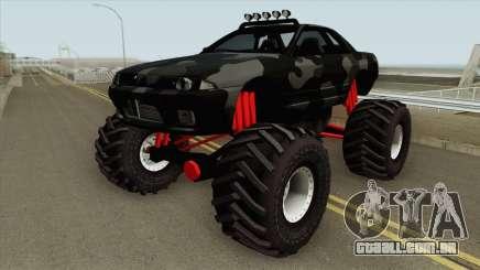 Nissan Skyline R32 Monster Truck Camo MQ para GTA San Andreas